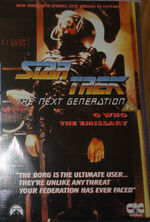TNG Q Who The Emissary UK rental video cover
