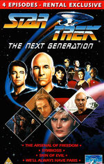 TNG Vol 6 UK Rental VHS cover