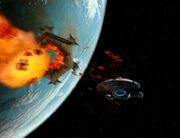 Waffentests auf der Voyager