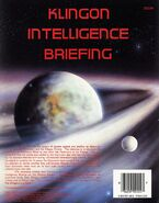 Klingon Intelligence Briefing