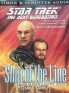 Ship of the Line audiobook cover, UK cassette edition