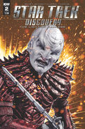 Star Trek Discovery - The Light of Kahless, issue 2 cover A