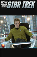 Star Trek Ongoing issue 5 retail incentive cover B