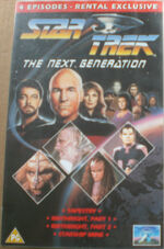 TNG Tapestry Birthright Starship Mine UK rental video cover