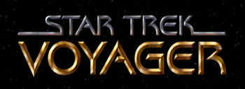 The VOY series logo