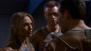 Archer, TPol, Tucker, discuss the Defiant
