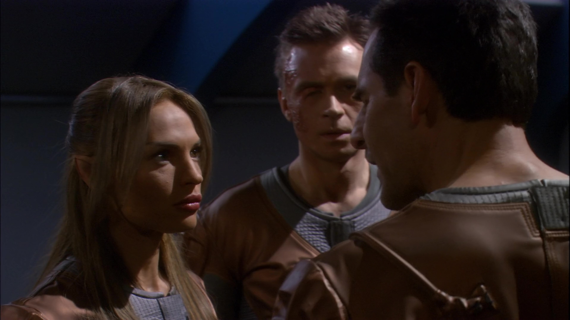 Archer, TPol, Tucker, discuss the Defiant.jpg