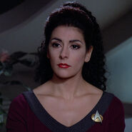 Deanna Troi illusion