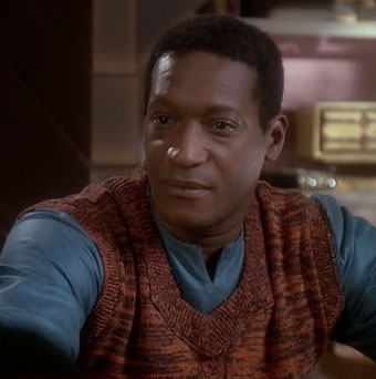 "Tony Todd in ""The Visitor"""