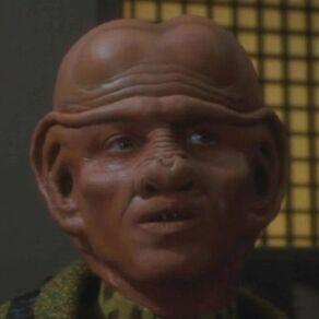 Pel, a Ferengi female in 2370