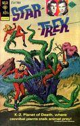 Planet of No Return reprint Comic