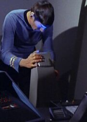 Spock using scope in Auxiliary Control Center