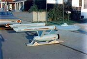 USS Enterprise eleven foot model upon delivery, starboard view