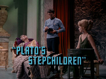 Plato's Stepchildren title card