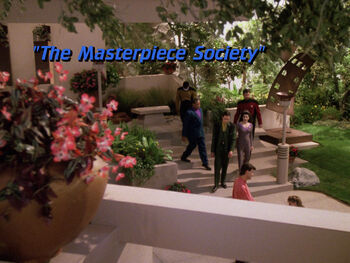 The Masterpiece Society title card