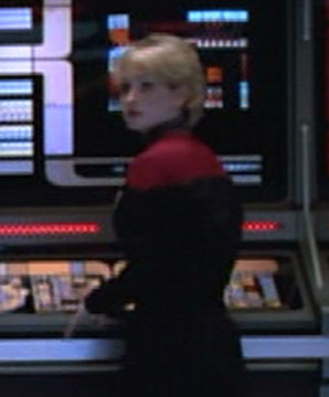 ... as a <i>Voyager</i> officer
