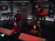 Galaxy class battle bridge, 2364-2