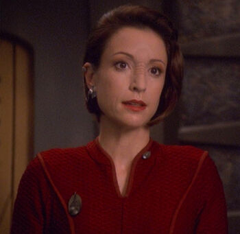 "Colonel Kira Nerys in <a href=""/wiki/2375"" title=""2375"">2375</a>"