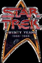 Star Trek 20th anniversary logo