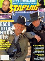 Starlog issue 155 cover