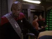 Worf ist mit der Situation unzufrieden
