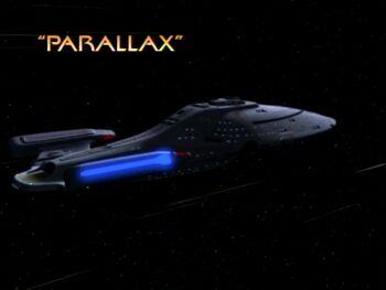 Parallax title card