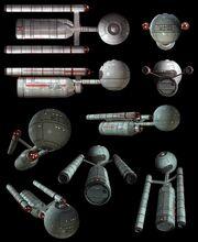 Daedalus class Doug Drexler CGI model