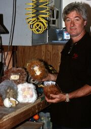 Gary Monak with tribbles