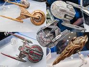Gentle Giant Toys Star Trek Fleet Flyers prototypes