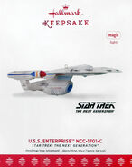 Hallmark 2017 USS Enterprise-C con exclusive