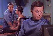 Harrison, Sulu und McCoy
