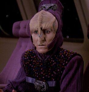 Leka Trion, the governor of the Peliar Zel natives