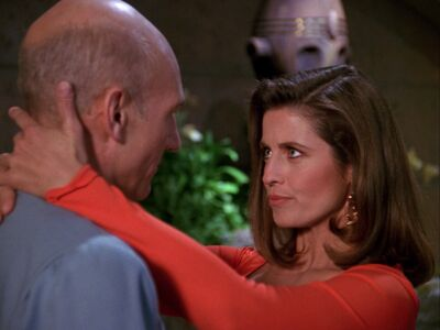 Picard und Vash