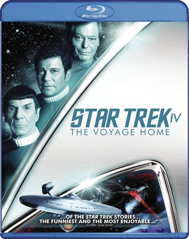Star Trek IV The Voyage Home Blu-ray cover Region A