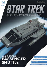 Star Trek Official Starships Collection Shuttle Issue 14