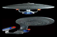 Star Trek TNG Build The USS Enterprise-D model