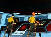 Sulu und Arex winzig
