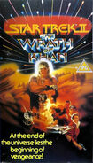 Wrath of Khan original UK VHS cover
