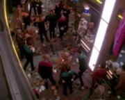 180px-DS9 Promenade infested with tribbles
