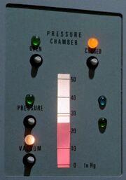 Decompression chamber controls