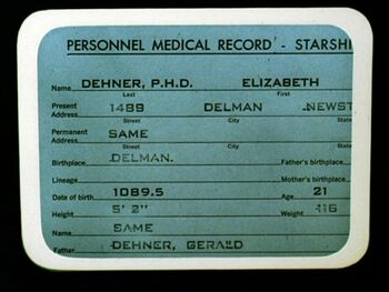 Gerald's name listed in his daughter's records.