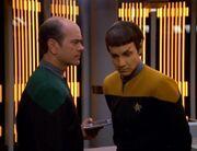 Der Doktor untersucht Vorik