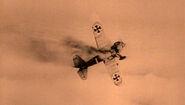German Fokker airplane