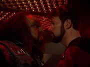 Kargan faces Riker