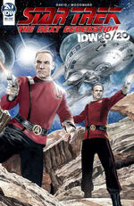 Star Trek The Next Generation - IDW 2020 cover