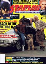 Starlog issue 149 cover