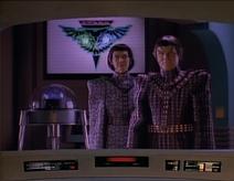 T'Pel ist eine Romulanerin