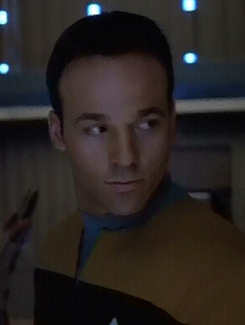 ... as a <i>Voyager</i> ensign