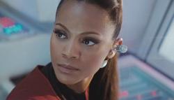 Uhura gezicht