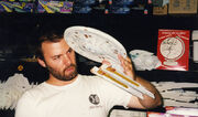 Adam Buckner with the USS Yupp